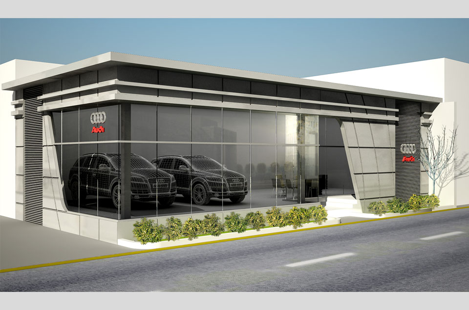 Car showroom design joy studio design gallery best design for Car showroom exterior design